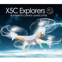 Buy cheap X5C 2.4GHz 4CH 6-Axis GYRO RC Quadcopter Drone Toy 2MP Fly Camera Recorder 360° Eversion from wholesalers