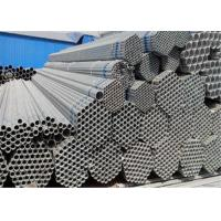 Buy cheap Hot Rolled Q235 48mm Galvanised Steel Tube With Welding Or Thread Connection from wholesalers