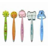 Buy cheap soft PVC ballpoint pen with magnet from wholesalers