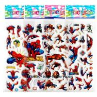 Buy cheap Boy's favourite cartoon 3D custom puffy stickers decal of cmyk UV printing from wholesalers