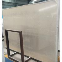 Buy cheap White Galaxy quartz, Value White quartz, Crystal White quartz stone prefab vanity top, countertop from wholesalers
