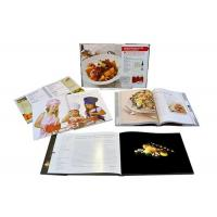 Buy cheap Brilliant Credible Hardcover Dessert Recipe Cook Book Printing Service from wholesalers