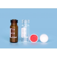Buy cheap PTFE Closures Laboratory ND11 1.5ml Injection Glass Vials from wholesalers