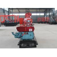Small Hydraulic Well Drilling Rig , One Man Water Well Drilling Rigs For Railways