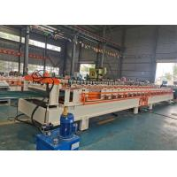 Buy cheap Fenestrated Rolling Shutter Machine , Steel Door Frame Roll Forming Machine product