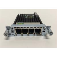 Buy cheap VIC3-4FXS/DID Cisco Voice Interface Cards , Cisco 4 Port Ethernet Card Long Lifespan from wholesalers