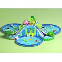Buy cheap Funny Large Inflatable Water Parks , Children Floating Playgrounds EN71-2-3 Certificate product