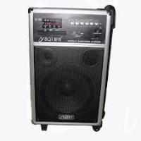 Buy cheap 60dB 10'' Mobile Portable PA Sound Systems With Wireless Microphone and CD player from wholesalers