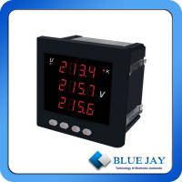 Buy cheap One Channel LED Voltmeter Digital Voltage Monitor LED Display Voltmeter Three Phase Meter Volt Meter from wholesalers