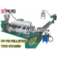 Buy cheap HDPE Plastic Recycling Pellet Machine Pelletizing Line For Milk / Shampoo Bottles from wholesalers