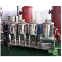 Buy cheap Double Roller Micro Beer Brewing Equipment Home Beer Brewing Kits False Bottoms Screens from wholesalers