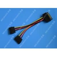 China SATA To Dual SATA Data Cable Splitter SSD HDD SATA Cable For Hard Drive on sale