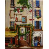 Buy cheap Hand Painted Ceramic Tile-Chianti from wholesalers