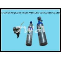 Hospital 1.2L Aluminum Gas Cylinder Bottles 355mm Length 1.43kg