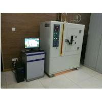 Buy cheap Gas Flow Range of 0.1-1L/min 3500W NBS Plastic/Rubber Smoke Density Testing Machine ISO 5659-2:2006 from wholesalers