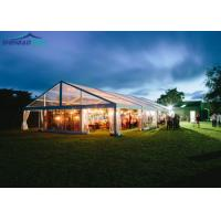 Buy cheap Transparent Garden Party Marquee Curtain Inside / Large White Tents For Weddings from wholesalers