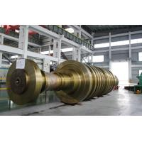 Buy cheap 30Cr1Mo1V Heavy Steel Forgings For 8000KW - 1000MW Steam Turbine Rotor JB/T 1267-2002 product