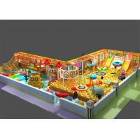 Buy cheap Inflatable Indoor Ball Pool Playground with Slide Trampoline Obstacle Course for Children from wholesalers