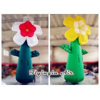 Buy cheap 5m Giant Multicolor Inflatable Flower for Event and Shop Decoration from wholesalers