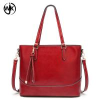Buy cheap new design trendy hobo handbag shoulder top quality city handbag pu leather luxury tote bag from wholesalers