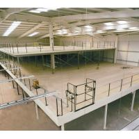 Structural Steel Mezzanine Floor Racking Powder Coating