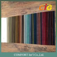 100% Polyester Home Textile Fabric Velvet Plain Pattern And Embossed Pattern