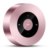 Buy cheap Pink Rose Wireless Bluetooth Speakers , Qi Outdoor Bluetooth Speakers Small Body Drive from wholesalers