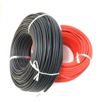 Buy cheap Red Single Core 1kV 4mm HV Power Cable For Solar PV Panel from wholesalers