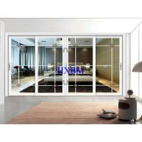 Buy cheap Good Ventilation Aluminum Frame Sliding Glass Window Optional Electric Venetian Glass from wholesalers