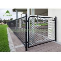 Buy cheap Easy Installation Steel Chain Link Fence , Galvanized Iron Diamond Wire Mesh Fence from wholesalers