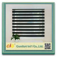 Buy cheap Decorating Home Textile Fabric Polyester Zebra Window Curtain product