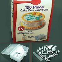 Buy cheap 100 Piece Cake Decorating Frosting Icing Decorating With Storage Box DIY Kit Set from wholesalers