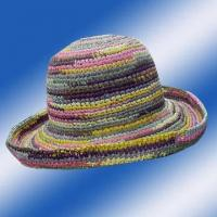 Buy cheap Raffia Straw Crochet Hats 10/303 from wholesalers