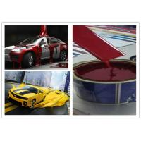 Buy cheap Red Resin Automotive Spray Painting , Liquid Coating Custom Spray Paint product