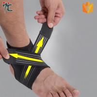 Buy cheap neoprene padded elastic gym basketball ankle strap support brace from wholesalers