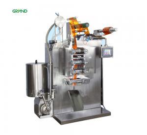 Buy cheap 35 Times/Min Sachet Packing Machine Four Side Sealing Multi Line Liquid Y350E product