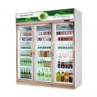 Buy cheap Customized Light Box Glass Door Freezer 2-8C Temperautre For Beverage Cooling from wholesalers