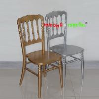 Buy cheap Wholesale Cheap China Solid Wood Wedding Hotel Wood Napoleon Chair from wholesalers