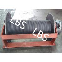 Buy cheap Groove Sleeve Hydraulic Crane Winch 3 MM - 190 MM Wire Diameter from wholesalers