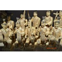 Buy cheap Bone Terra-Cotta Warriors  statues bone buddha figurines bone carvings product