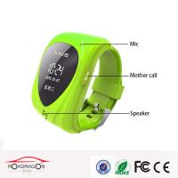 Buy cheap Mini pinck color gps Wrist Watch bacelet GPS  watch phone tracker for kids care from wholesalers