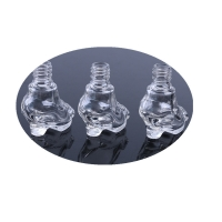 Buy cheap High Heeled Shoes 10ML Empty Glass Nail Polish Bottles from wholesalers