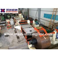 Buy cheap Half  Automatic and Simple Slitting Machine and 1219mm width Slitting Line from wholesalers