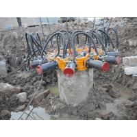 Buy cheap 600kN Rod Pressure Hydraulic Round Concrete Cutting Machine 30L/min Max Single Cylinder Flow from wholesalers