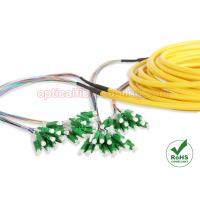 Buy cheap LC APC Distribution Fiber Patch Cables SM 9 / 125 12 Core Single Mode For Backbone Cabling from wholesalers