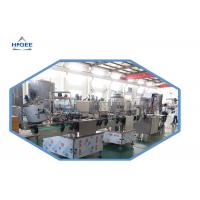 Buy cheap Long Service Life Liquid Beverage Filing Machine With Conveyer Belt Material from wholesalers