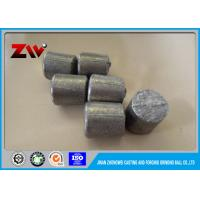 Buy cheap Industrial High Strength Chrome iron casting Grinding cylpebs HRC 45-65 from wholesalers