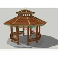 Buy cheap Waterproof Prefab Gazebo Kit ,  High Density Outdoor Covered Gazebo 6.77m * 7.12m * 6.12m from wholesalers