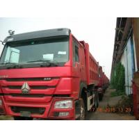 Buy cheap 336HP Heavy Duty Dump Truck LHD Hw76 Cab Red International Dumper Truck from wholesalers