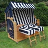 Buy cheap Beach Chair with 11mm Plastic Width, Measures 160 x 120 x 88cm, Can Used as Strandkorb from wholesalers